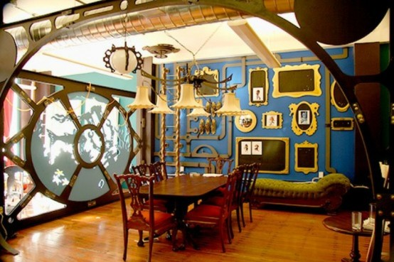 Steampunk Interior Design Ideas image of steampunk furniture style ideas Crazy Steampunk Home Offices