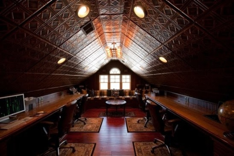 28 crazy steampunk home office designs digsdigs for Crazy interior designs