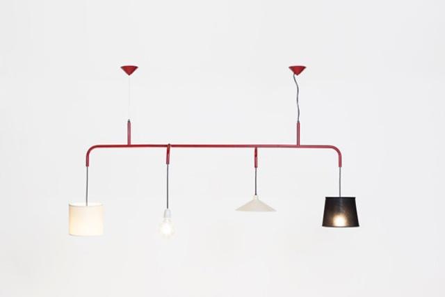 Crazy Vialattea Pendant Lamp Of 4 Different Parts | DigsDigs
