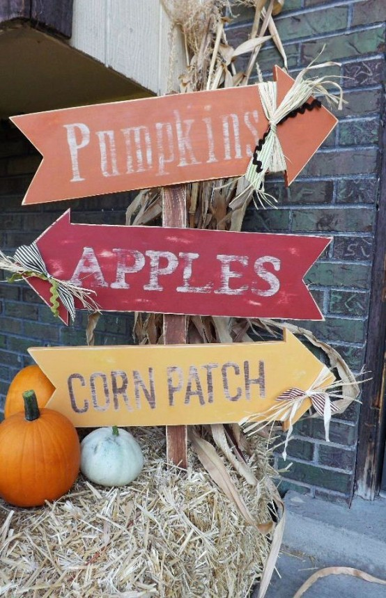56 Creative And Cute Fall Signs To Welcome Autumn Digsdigs