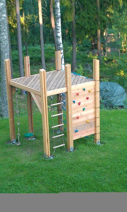 Creative And Fun Outdoor Kids Play Areas
