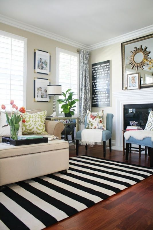 Creative And Timeless Striped Home Decor Ideas