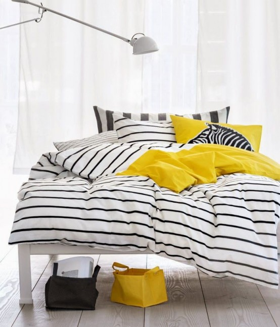 35 Creative And Timeless Striped Home Décor Ideas