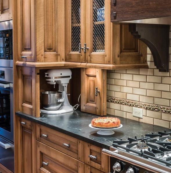 Creative Appliances Storage Ideas For Small Kitchens