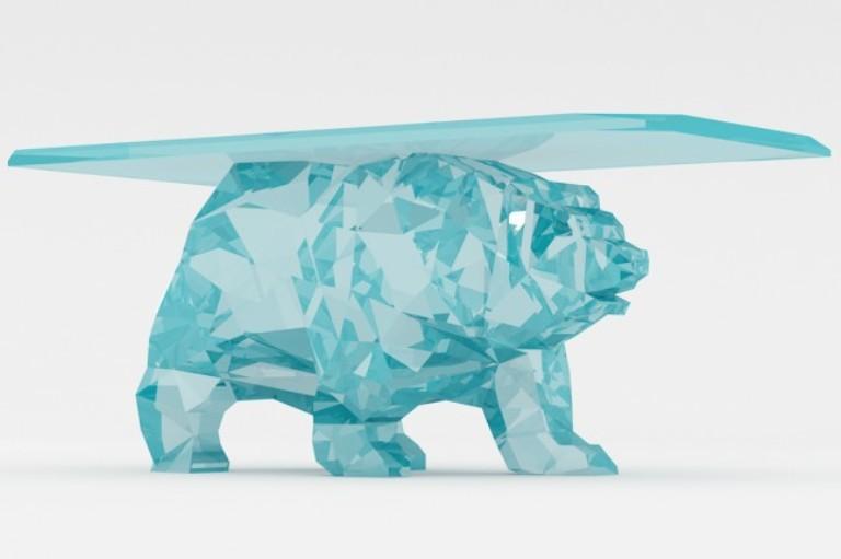 Creative Bear Shaped Table