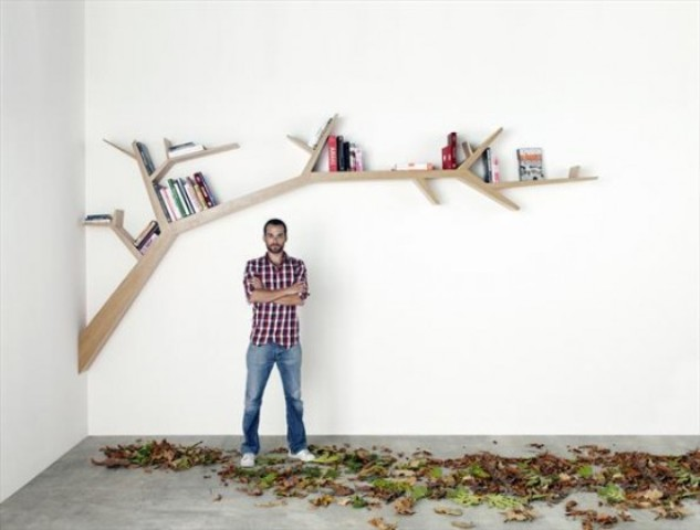 home design interior singapore: unique and creative bookshelf ideas