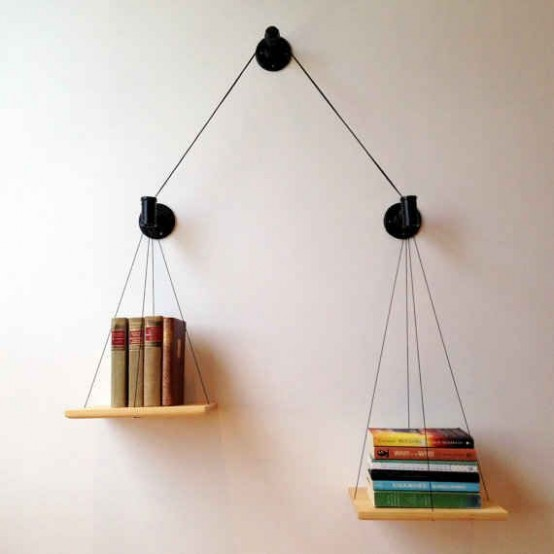 36 creative bookshelves and bookcases designs - digsdigs