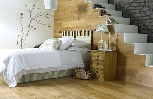 Creative But Natural Bedroom Design