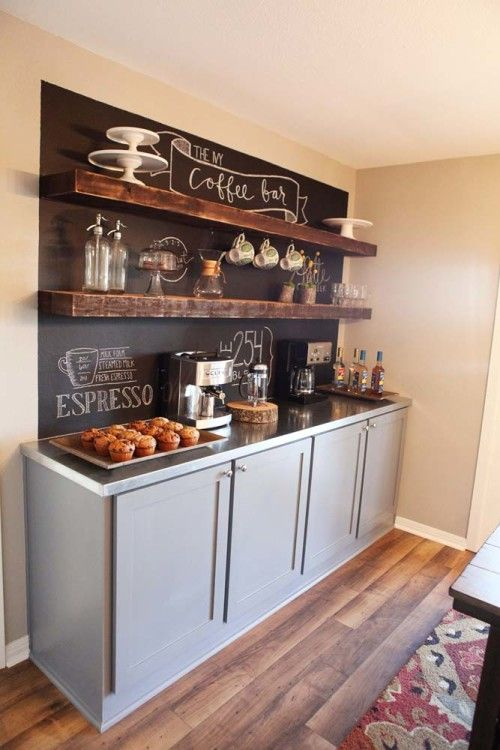 Http Www Digsdigs Com 35 Creative Chalkboard Ideas For Kitchen Decor