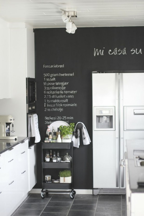 35 creative chalkboard ideas for kitchen dcor - Chalkboard Designs Ideas