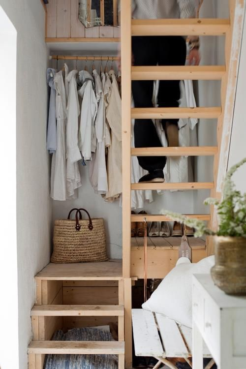 18 Creative Clothes Storage Solutions For Small Spaces - DigsDigs
