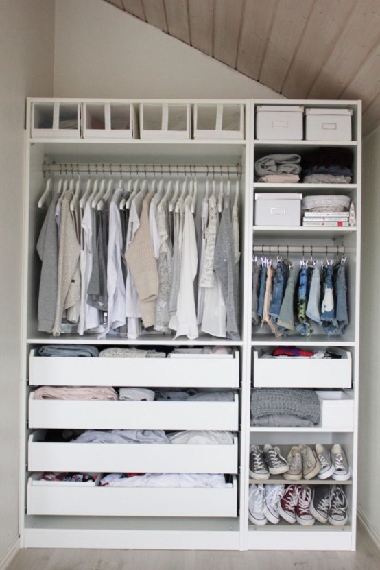 You may not have a lot of space now, but that doesn't mean your clothes have to suffer. These genius storage solutions will make your small space feel like you can fit all your clothes and then.