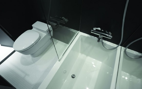 Creative Compact Bathroom Solution For Small Apartment