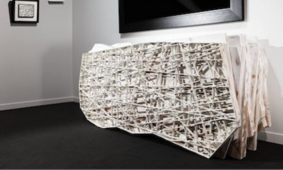 Super Creative Ego Sideboard With A Random Design
