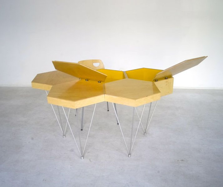 Creative Honeycomb Desk For Home And Office