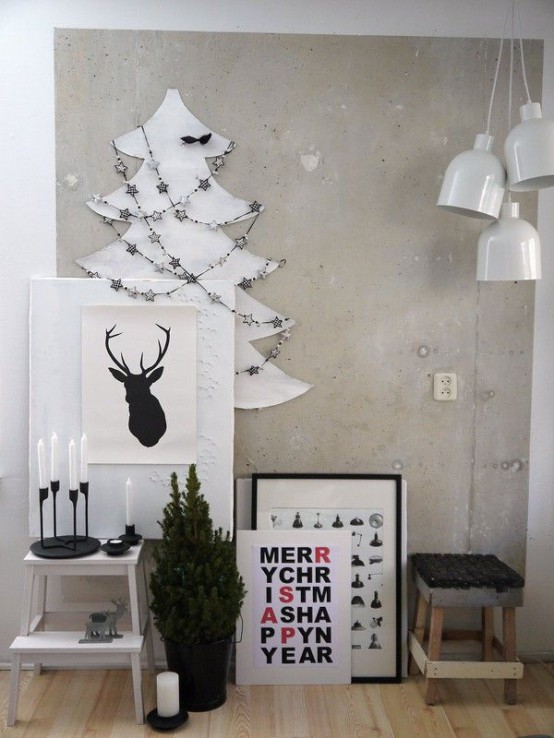 30 creative christmas d cor ideas for small spaces digsdigs