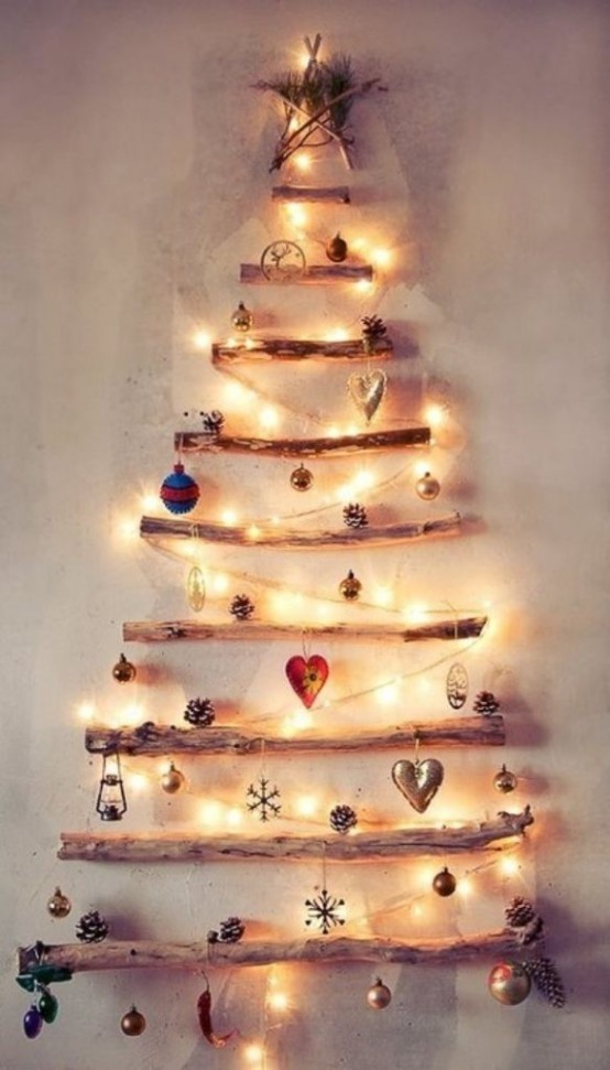 creative hristmas decor ideas for small spaces - Christmas Decorations For Small Spaces