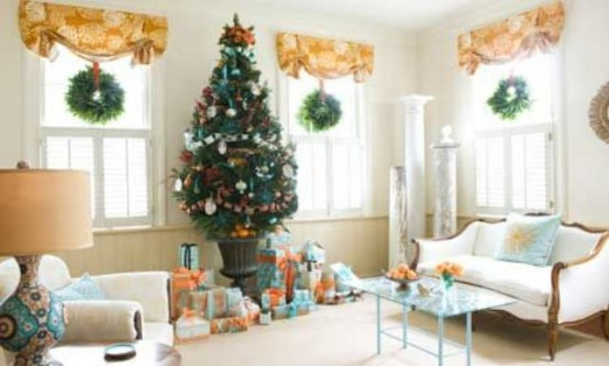 30 creative christmas d cor ideas for small spaces digsdigs - Gifts for small apartments ...
