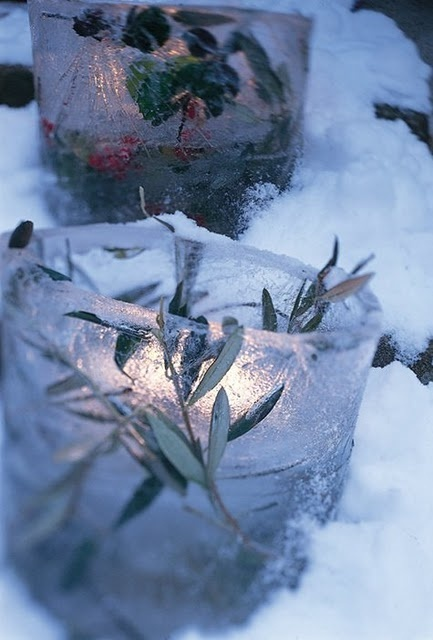 Creative Ice Christmas Decorations For Outdoors