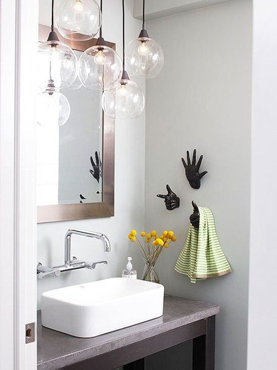 43 Creative Modern Bathroom Lights Ideas You Ll Love Digsdigs