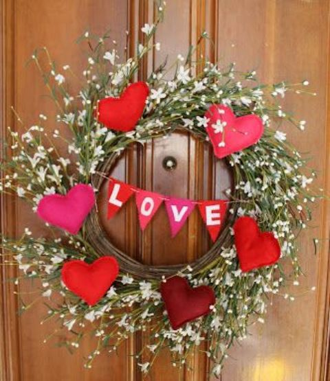 Valentine Gift Idea 2 Home Decor Frame Layout: 25 Creative Outdoor Valentine Décor Ideas