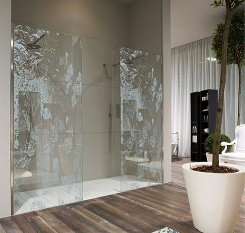 New Home Designs: 21 Creative Glass Shower Doors Designs For Bathrooms