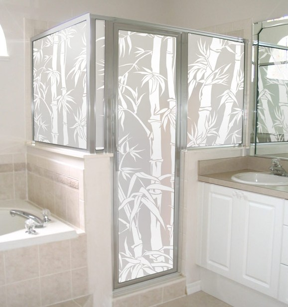 21 creative glass shower doors designs for bathrooms for Creative window designs
