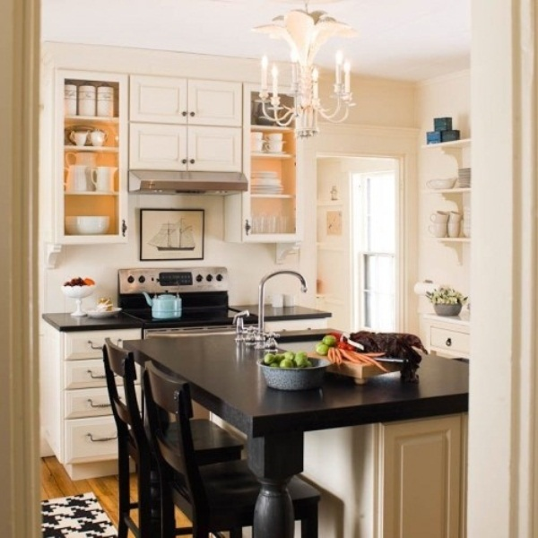 Small Kitchen Design Photos Gallery: 45 Creative Small Kitchen Design Ideas
