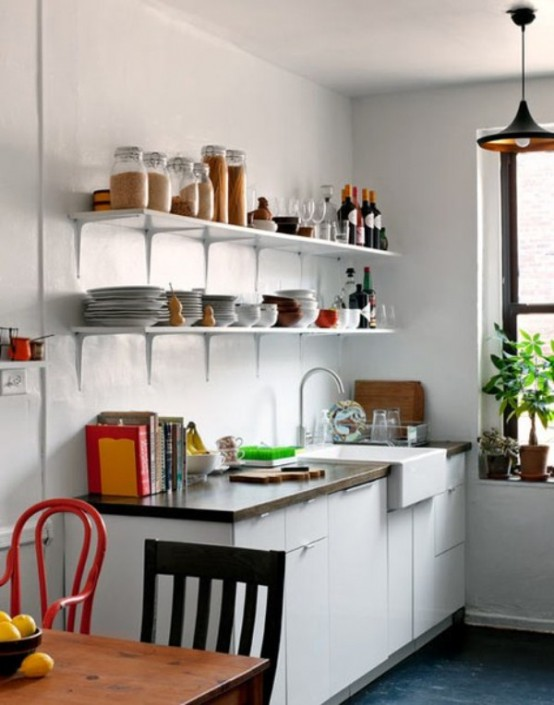 70 Creative Small Kitchen Design Ideas - DigsDigs