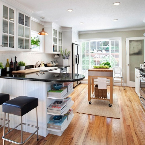 45 Creative Small Kitchen Design Ideas | DigsDigs on Remodel Small Kitchen Ideas  id=55684