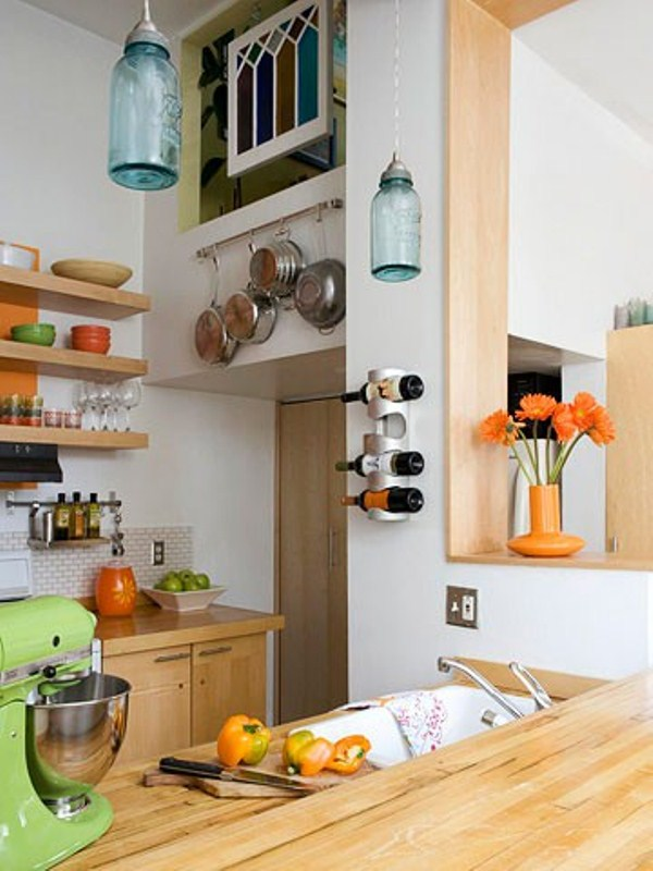 Picture of creative small kitchen ideas for 9x9 kitchen layout