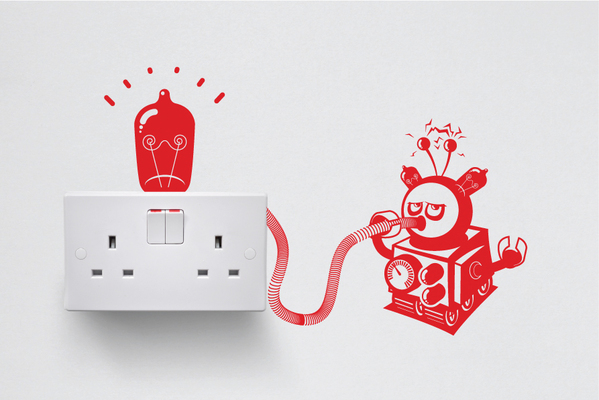 Creative Vinyl Decals To Decorate Light Switches and Outlets