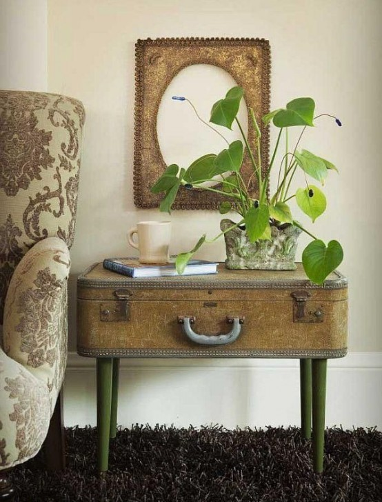 Creative Ways Of Reusing Vintage Suitcases