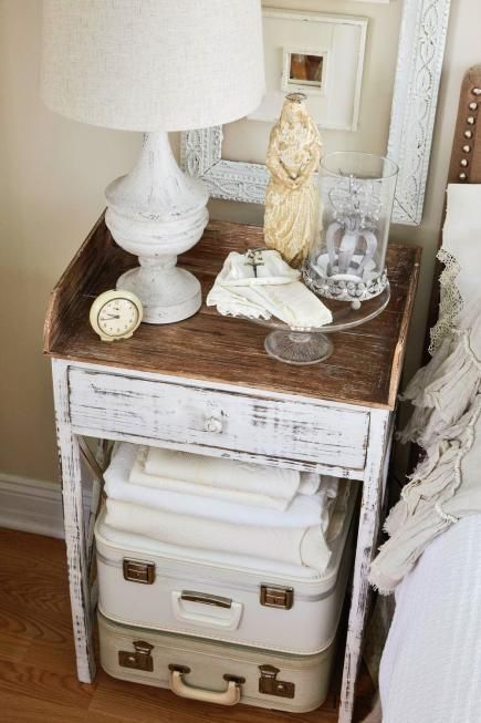 39 Creative Ways Of Reusing Vintage Suitcases For Home Decor