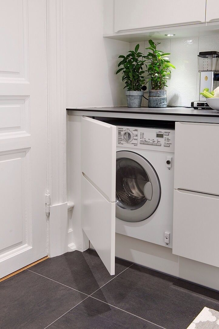 Picture Of creative ways to hide a washing machine in your home  14