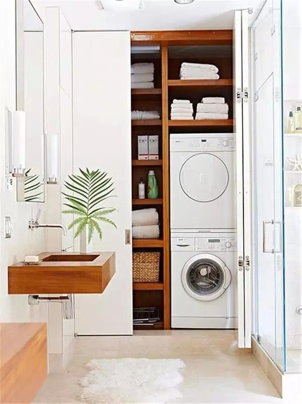 Picture Of creative ways to hide a washing machine in your home  2