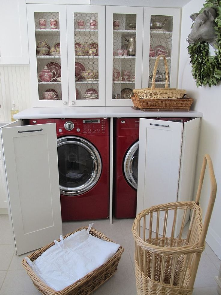 Picture Of creative ways to hide a washing machine in your home  20