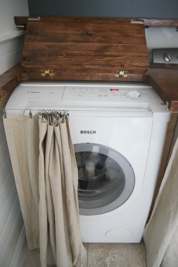 Picture Of creative ways to hide a washing machine in your home  4