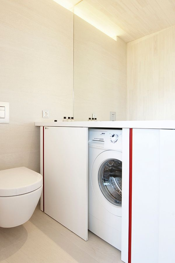 Picture Of creative ways to hide a washing machine in your home  6