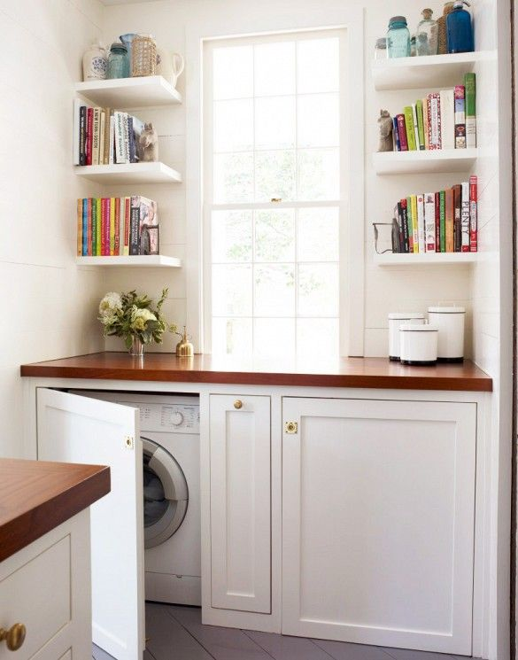Picture Of creative ways to hide a washing machine in your home  9