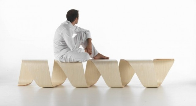 Creativity And Comfort: Unusual DNA Bench
