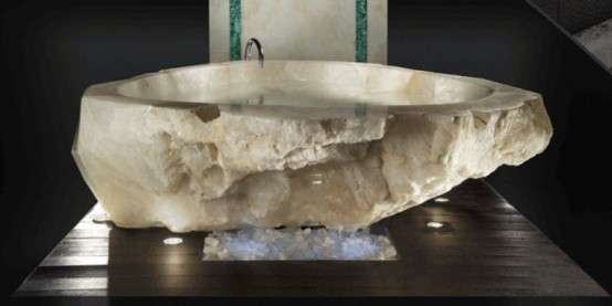 Crystal Bathtub Absolute Luxury