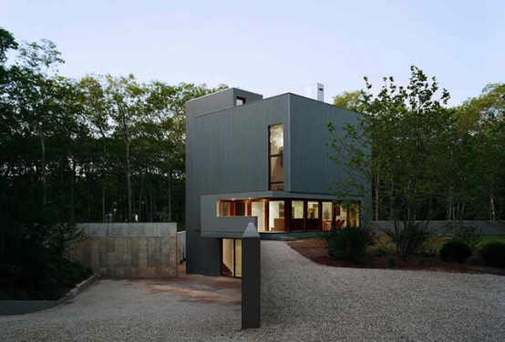 Cube House With Amazing Swimming Pool