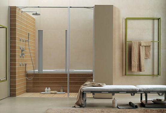 Cube Room Multisystem – Smart Bathroom Layout by Albatros