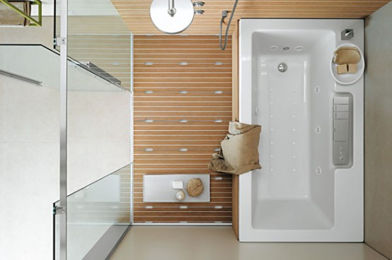 Cube room multisystem smart bathroom layout by albatros - Idees salle de bain petite ...