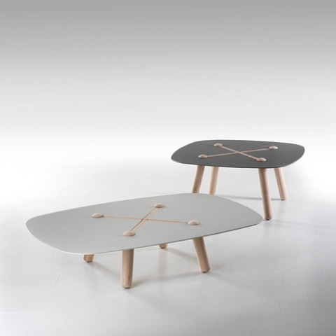Curious Button Table By Marcello Santin And Joeri Reynaert
