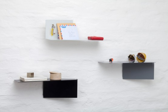 Customizable Functionality: Plateau Adaptable Wall Shelves