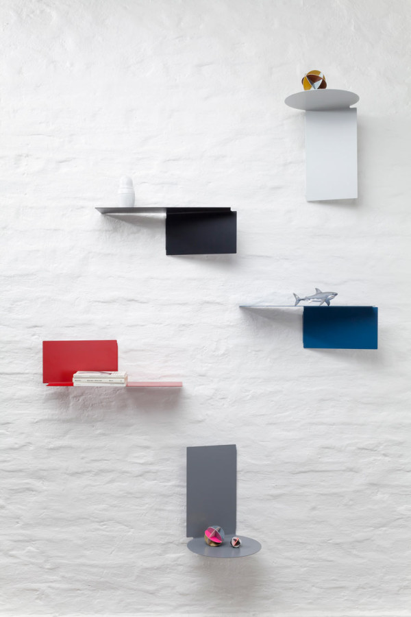 Customizable Functionality Plateau Adaptable Wall Shelves