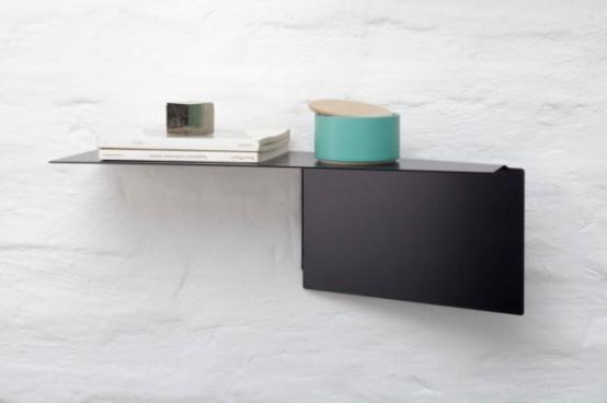 Customizable Functionality Plateau Adaptable Wall Shelves