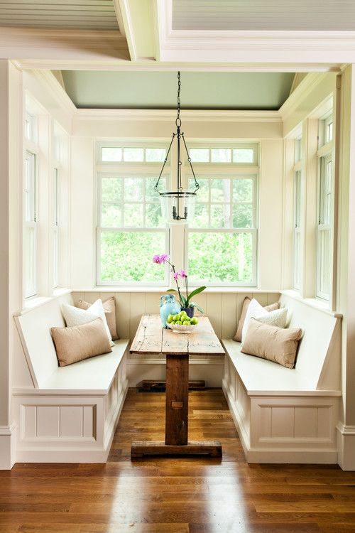 awesome breakfast nook furniture decorating ideas | 40 Cute And Cozy Breakfast Nook Décor Ideas - DigsDigs